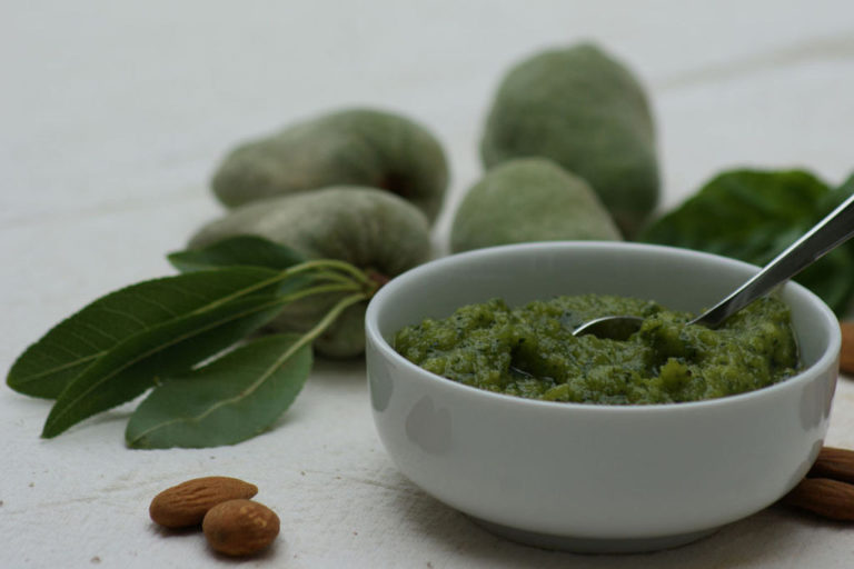 cuisine créative - pesto verde fait maison